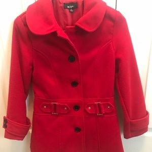 Girls BCX peacoat size medium excellent condition